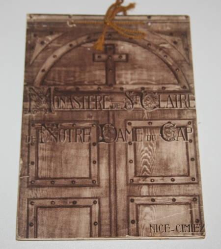 Monastère Sainte Claire de Notre-Dame du Cap [ordre des clarisses] - Nice - 1933 - Photo 1 - livre du XXe siècle