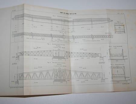 [Ponts et Chaussées] Renforcement du pont de Benha sur le Nil en Egypte - 1909 - Photo 0 - livre moderne
