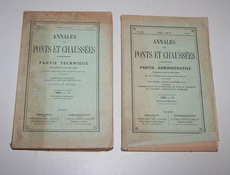 Photo livre n°2. . Annales des Ponts et Chaussées