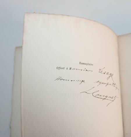 HALEVY (Ludovic) - Trois coups de foudre - 1886 - dessins de Kauffmann - Photo 3 - livre d'occasion