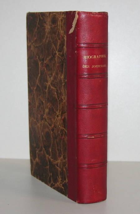 DESCHIENS. Bibliographie des journaux. Collection de matériaux pour l'histoire de la Révolution de France, depuis 1787 jusqu'à ce jour
