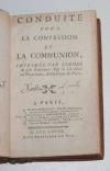 Conduite pour la confession et la communion de Mgr de Noailles - 1768 - Photo 1, livre ancien du XVIIIe siècle