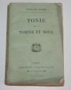 Raoul de Navery - Tonie, suivi de Tomine et Noga - (1879) - Photo 0, livre rare du XIXe siècle