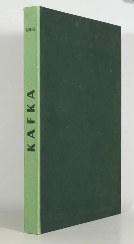 Kafka 15 estampes lithographiées couleurs de Chancel 1957 Signées et justifiées - Photo 1 - livre rare