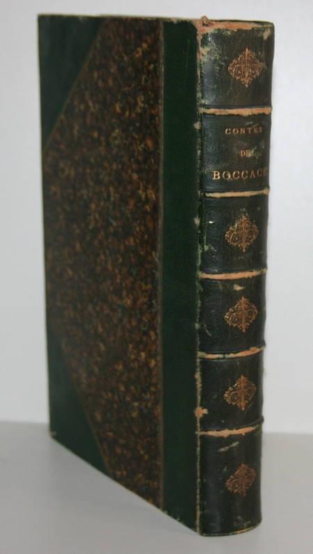 Contes de Boccace - 1869 - Illustré par Johannot, Grandville, Nanteuil, ... - Photo 1 - livre du XIXe siècle