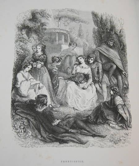 Contes de Boccace - 1869 - Illustré par Johannot, Grandville, Nanteuil, ... - Photo 3 - livre du XIXe siècle