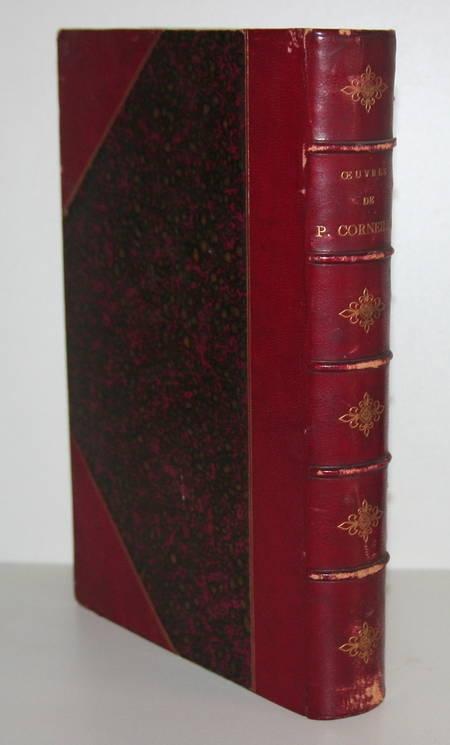 Théâtre de Corneille - 20 planches de portraits en couleurs - 1869 - Photo 1 - livre d'occasion