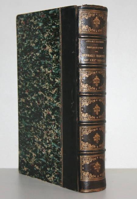 BRIVOIS (Jules). Bibliographie des ouvrages illustrés du XIXe siècle. Principalement des livres à gravures sur bois. Guide de l'amateur