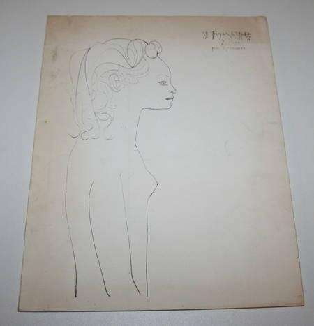 Dessins et gravures de Picasso - Signé par Geneviève Laporte - 1974 - Photo 2 - livre d'occasion