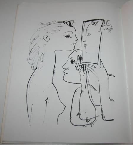 Dessins et gravures de Picasso - Signé par Geneviève Laporte - 1974 - Photo 3 - livre d'occasion