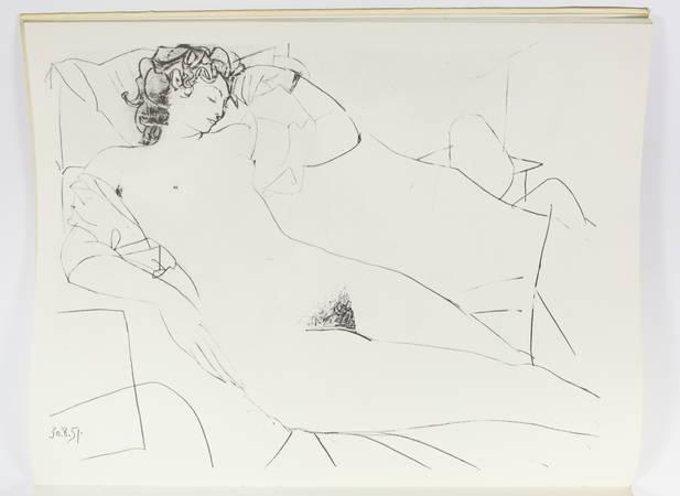 Dessins et gravures de Picasso - Signé par Geneviève Laporte - 1974 - Photo 4 - livre d'occasion