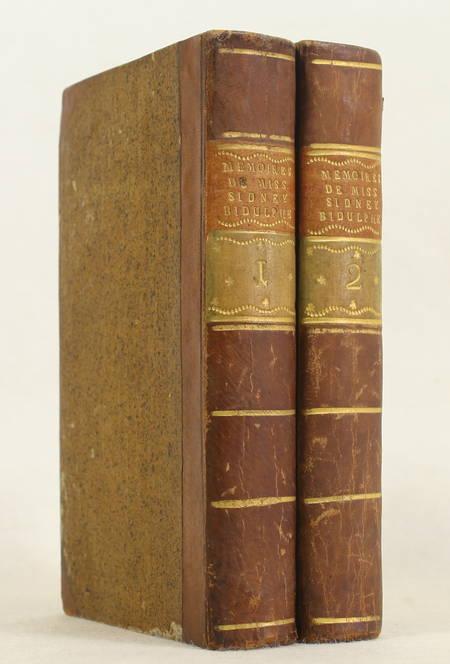 [SHERIDAN (Frances)] Mémoires de miss Sidney Bidulphe - 1768 - 2 volumes - Photo 0 - livre de bibliophilie