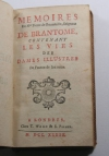 Pierre de Brantôme - Contenant les vies des dames illustres - 1739 - Photo 1, livre ancien du XVIIIe siècle