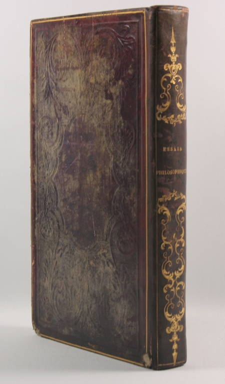 DUGALD-STEWART - Essais philosophiques Locke, Berkeley, Priesley ... 1828 - Photo 2 - livre de bibliophilie