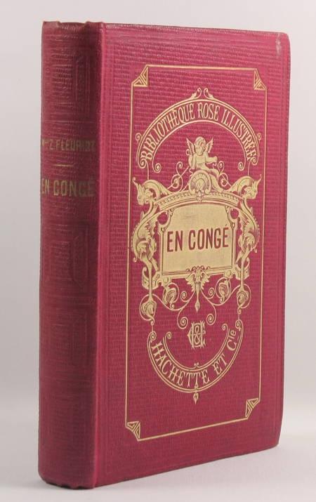 FLEURIOT (Zénaïde Mlle) - En congé 1901 - Bibliothèque Rose - Photo 0 - livre de collection
