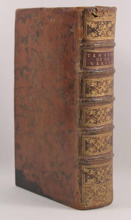 P. de la Borde - Du témoignage de la vérité dans l'église - 1754 - Photo 0 - livre du XVIIIe siècle