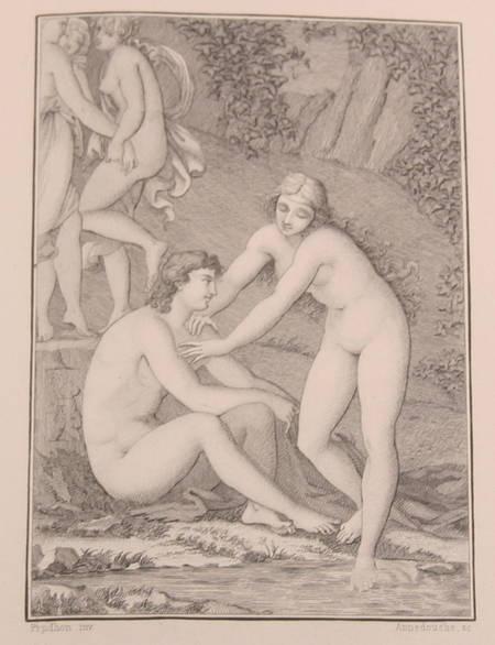 LONGUS. Daphnis et Chloé, livre rare du XIXe siècle