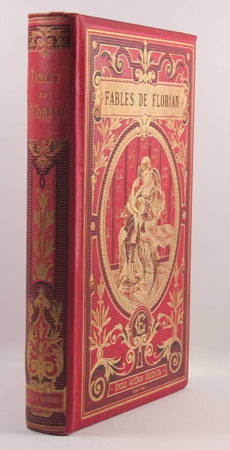 Fables de Florian - Lefèvre, Guérin - (Vers 1880-1900) - Cartonnage de Engel - Photo 0 - livre d'occasion