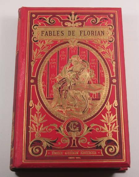Fables de Florian - Lefèvre, Guérin - (Vers 1880-1900) - Cartonnage de Engel - Photo 2 - livre d'occasion