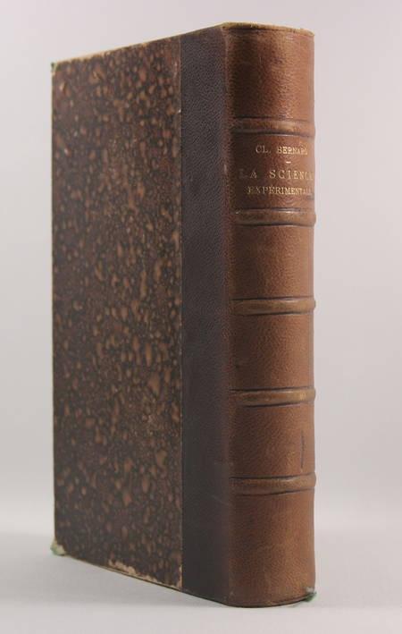 Claude Bernard - La science expérimentale - 1878 - Relié - EO - Photo 0 - livre rare