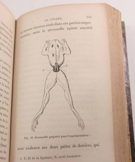 Claude Bernard - La science expérimentale - 1878 - Relié - EO - Photo 2 - livre rare