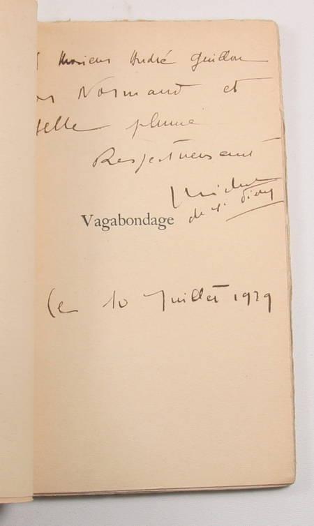 SAINT-PIERRE (Michel de). Vagabondage, livre rare du XXe siècle