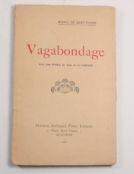 SAINT-PIERRE (Michel de) - Vagabondage - 1938 - Envoi - Photo 1 - livre du XXe siècle