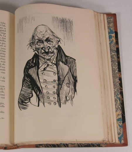BALZAC - Etudes philosophiques - Conard 1925 - 5v - Reliures signées de Yseux - Photo 1 - livre d'occasion