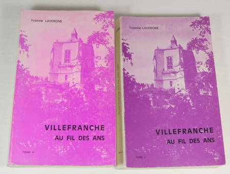 Lavergne - Villefranche de Rouergue au fil des ans - 1980 - 2 volumes - Photo 0 - livre moderne