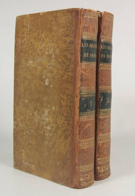 JOUY (E.) et JAY (A.). Les hermites en prison, par E. Jouy et A. Jay; pour faire suite aux observations sur les moeurs et les usages français au commencement du XIXe siècle