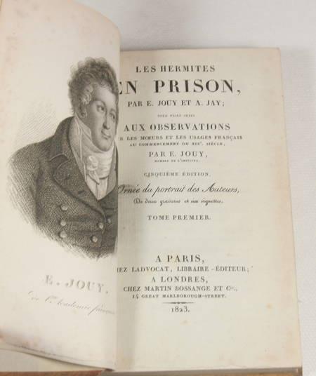 Jouy et Jay - Les hermites en prison - 1823 - 2 volumes - Photo 1 - livre du XIXe siècle