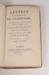 Lettres de mademoiselle de Lespinasse - 2 volumes - 1815 Opuscules de d Alembert - Photo 1 - livre de collection