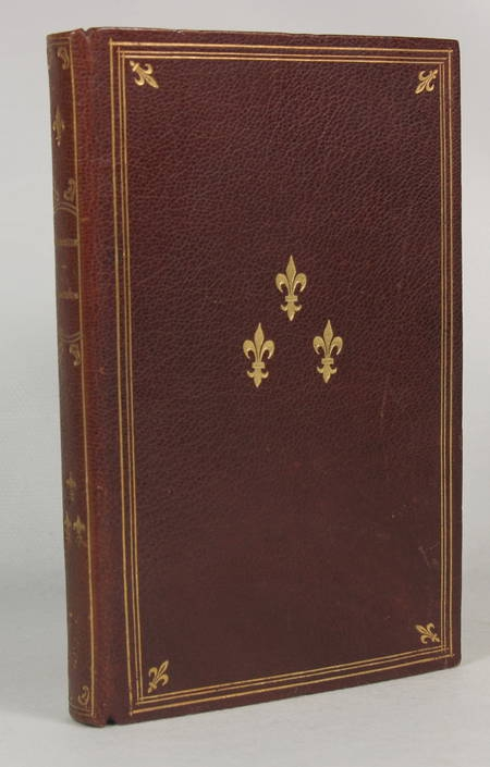 Anacréon et les poèmes anacréontiques - Delboule - 1891 - Reliure fleurdelyssée - Photo 2 - livre de bibliophilie