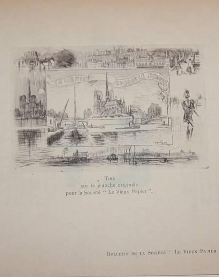 Flobert - Nos ex-libris - Société du Vieux Papier - 1910 - eau-forte - Photo 0 - livre moderne