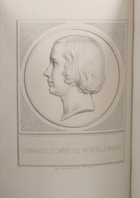 Montalembert - Lettres à un ami de collège. 1827-1830 - Lecoffre, 1873 - EO - Photo 2, livre rare du XIXe siècle