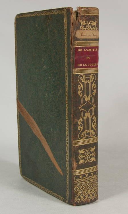Sacy - Traités de l'amitié et de la gloire - Clermont - 1810 - Photo 1 - livre du XIXe siècle