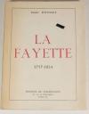 DOUSSET (Emile). La Fayette. 1757-1834