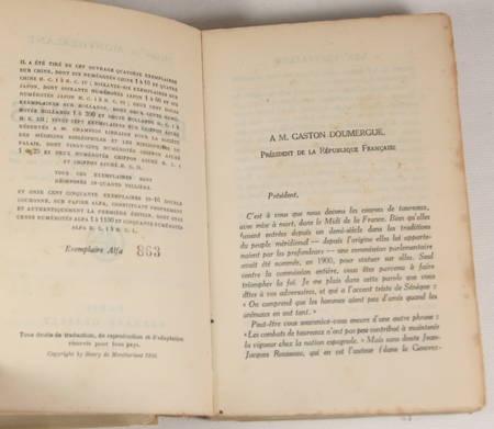 Montherlant - Les bestiaires - 1926 - Eo numéroté sir Alfa - Photo 1 - livre du XXe siècle