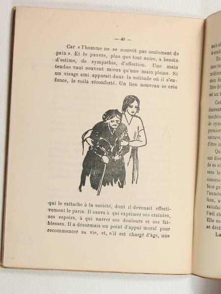 [Aurillac Auvergne] BEAUFRERE (Abel) - Mon frère le pauvre - 1933 - Photo 1 - livre du XXe siècle