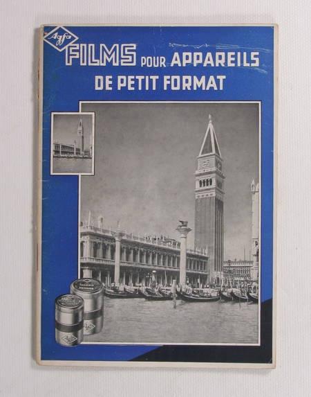 WANDELT (Dr. H. G.). Films pour appareils de petit format, livre rare du XXe siècle