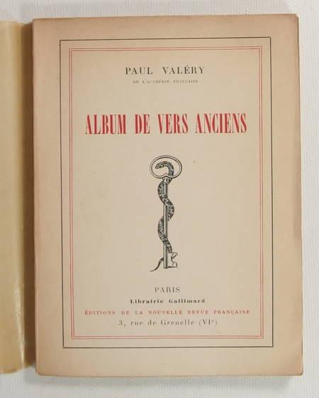 VALERY (paul). Album de vers anciens