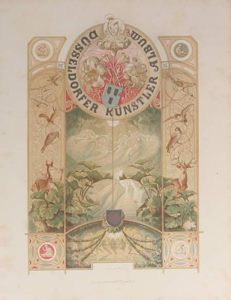 Dusseldörfer Kunstler Album. Vierter Jahrgang - 1854 - Lithographies - Photo 0 - livre de bibliophilie