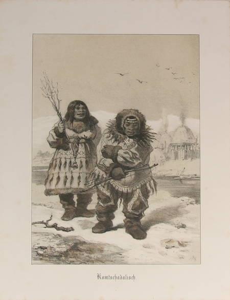Dusseldörfer Kunstler Album. Vierter Jahrgang - 1854 - Lithographies - Photo 1 - livre de bibliophilie