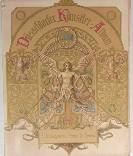 Dusseldörfer Kunstler Album. Vierter Jahrgang - 1854 - Lithographies - Photo 2 - livre de bibliophilie