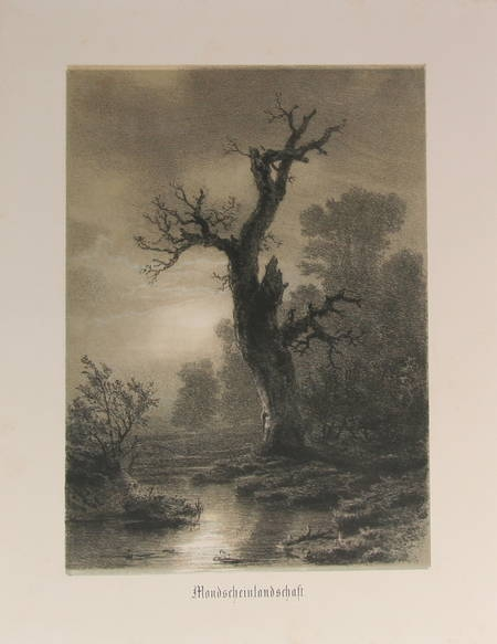 Dusseldörfer Kunstler Album. Vierter Jahrgang - 1854 - Lithographies - Photo 3 - livre de bibliophilie