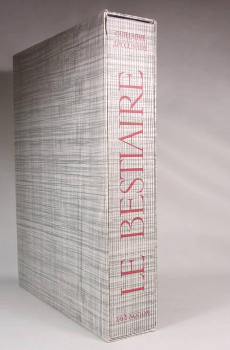APOLLINAIRE - Le bestiaire du cortège d'Orphée - 1966 - Burins de Tavy Notton - Photo 1 - livre moderne