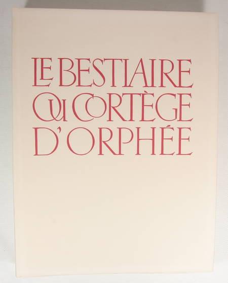 APOLLINAIRE - Le bestiaire du cortège d'Orphée - 1966 - Burins de Tavy Notton - Photo 3 - livre moderne