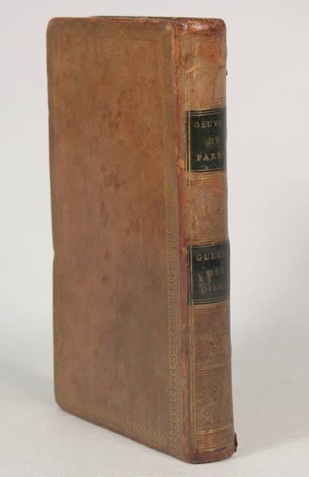 PARNY (Evariste). La guerre des dieux. Poème en dix chants, livre ancien du XIXe siècle