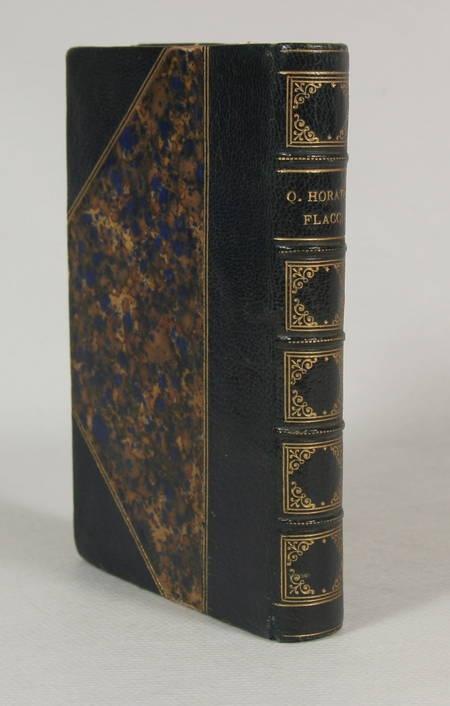 HORACE. Quinti Horatii Flacci. Opera omnia. Recensuit et Emendavit Joh. Aug. Amar. [Jean-Augustin Amar du Rivier], livre rare du XIXe siècle