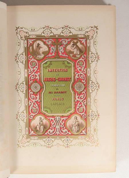 L'imitation de Jésus-Christ - Traduction nouvelle par Mgr. G. Darboy - 1855 - Photo 0 - livre d'occasion